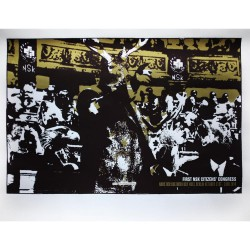 Laibach - First Nsk Citizens' Congress - Silkscreen