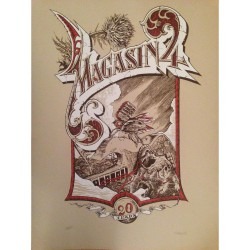 Magasin 4 - 20 Years Anniversary - Lithograph