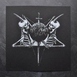 Tsjuder - Demonic Supremacy (from Antiliv) - Screen print